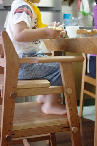 木の子供用ダイニング子供椅子