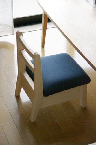 オーダー家具屋の子供椅子