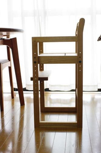 オーダーのダイニング用子供椅子