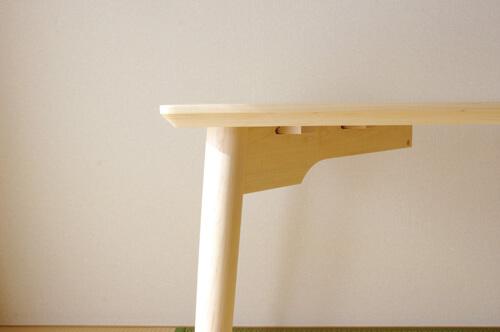 丸脚だ忍具テーブル
