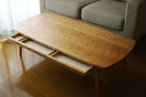 神奈川の無垢材テーブルinahono furniture
