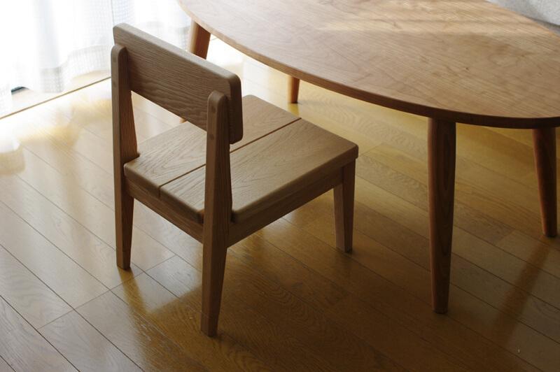 一生使える子供椅子