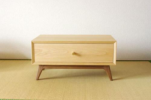 神奈川の無垢材家具 経机