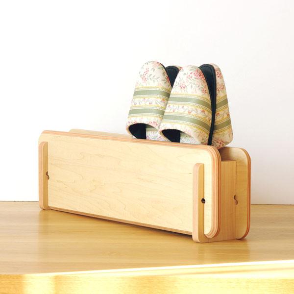 plywoodのスリッパラック