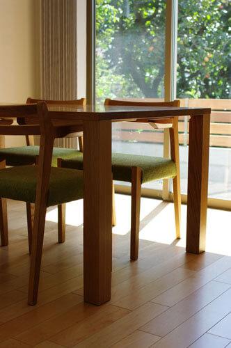無垢材テーブル 神奈川