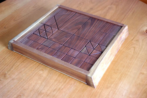 一枚板の積み木