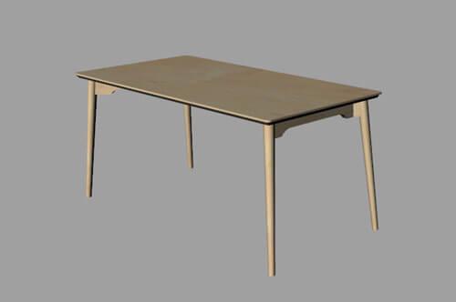ダイニングテーブルのオーダー製作