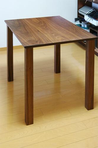 ウォールナット材テーブル